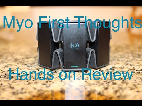 Myo Armband Initial Thoughts and Review || Hands On