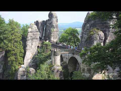 AAW Vlog-Bastei and Bastei Bridge, Sandstone, Germany 2017