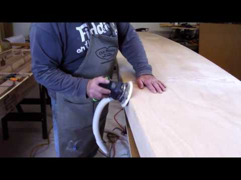 Boardman 14 SUP Construction Video #19: Preparing for Fiberglass