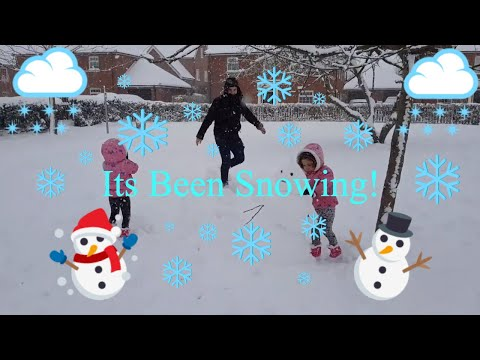 Toddler twins first experience of snow!