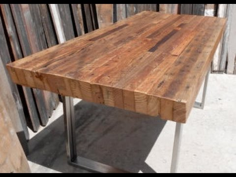 Reclaimed Wood Tables Ideas