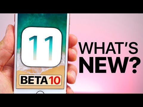 iOS 11 Beta 10 Released! What's New?