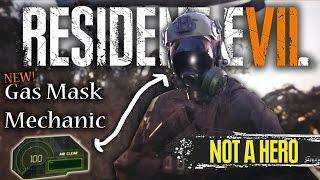 Resident Evil 7 Not A Hero DLC | NEW Gas Mask & Oxygen Mechanic | RE7 News