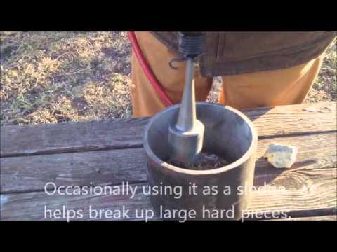 Rock Crushing for Gold & Panning, Backyard Prospecting.