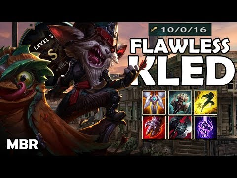 Kled Vs Trundle | Flawless Top Lane Kled Gameplay | S Rating