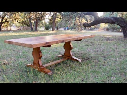 AR2: Finishing The Trestle Table