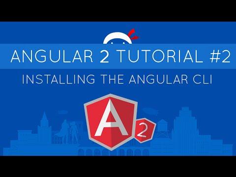 Angular 2 Tutorial #2 - Installing the Angular CLI