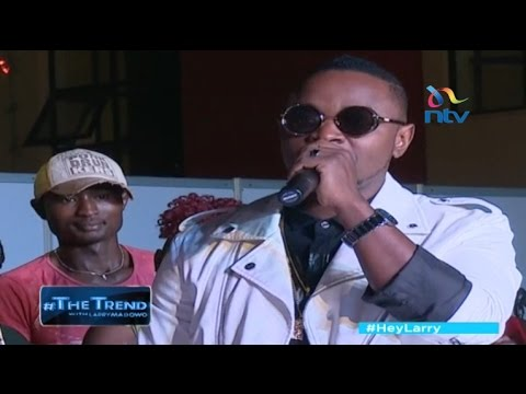 #theTrend: Ommy Dimpoz delivers an important message to upcoming artists