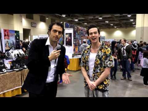 Toronto Comicon 2014 Interviews: Ace Ventura (Simon Fontaine)