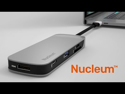 USB-C Macbook Pro Hub with HDMI, USB 3.1, SD, microSD - Nucleum - Kingston Technology
