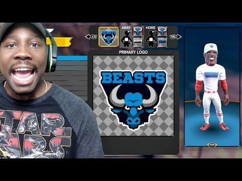 CREATING CUSTOM TEAM, UNIFORMS, LOGO & COLORS! Super Mega Baseball 2 Online Gameplay Ep. 2