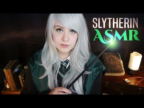 Cosplay ASMR - Harry Potter ~ Slytherin Girl gives you a Spell Lesson - ASMR Neko