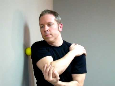 Shoulder (Rotator Cuff) Massage With Tennis Ball