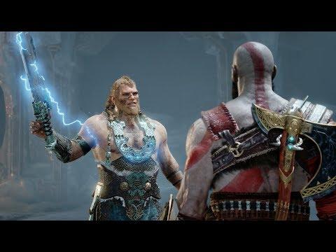 God Of War (PS4) - Boss #10 - Magni And Modi - NO DAMAGE, NO RAGE [GIVE ME GOD OF WAR]