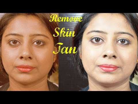 How to remove Tan from Face and Body || Secret Natural Formula to Remove Tan Instantly