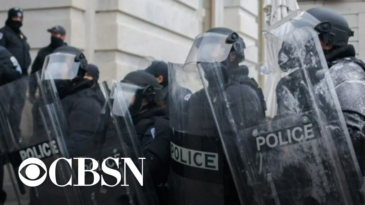 Police departments investigating their own officers following deadly Capitol riot