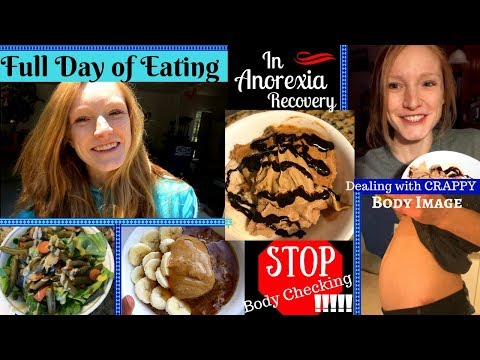 FULL DAY OF EATING// Bad Body Image + Tips on how to STOP Body Checking!