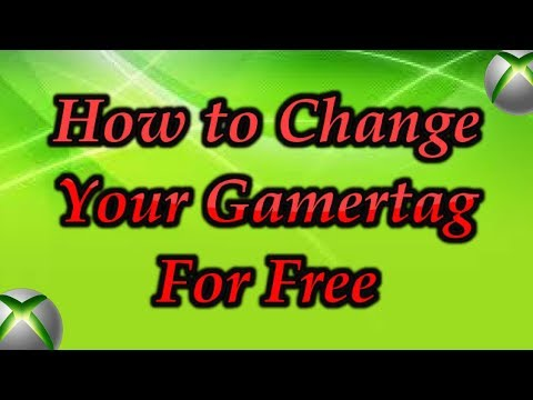 How to Change Your Gamertag For Free!!!