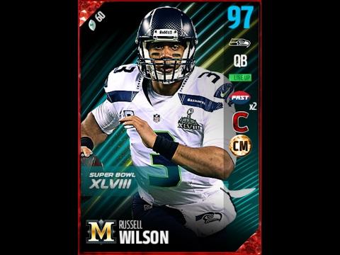 Madden 17 MUT Russell Wilson *95 OVR* Highlights