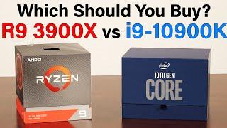 i9-10900K vs R9 3900X — Can Intel's 10 Core 5.3GHz CPU Crush AMD? — Which Should You Buy?