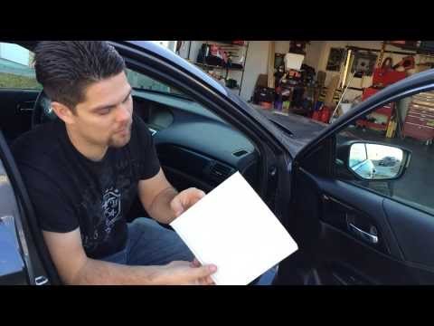 How to Replace Cabin Air Filter 2013+ Honda Accord All Models