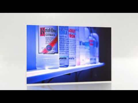 liquor store display