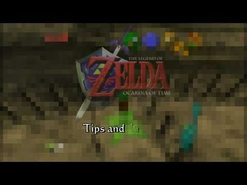 Ocarina of Time (HD) Tips and Tricks - Early Heart Piece Above Dodongo's Cavern