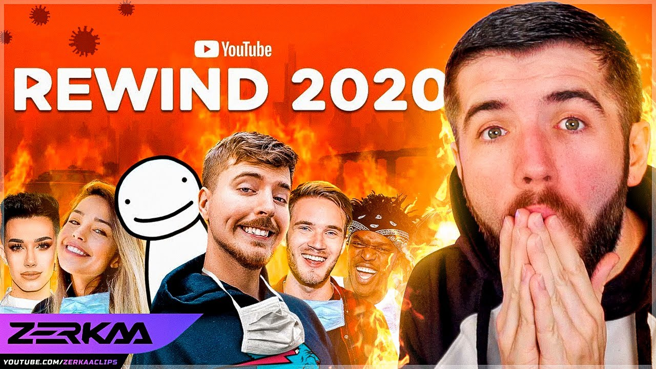 REACTING TO YOUTUBE REWIND 2020