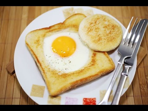 Quick And Easy Breakfast Egg In A Hole