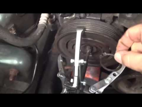 Jeep cherokee sport liberty aircon pulley bearing replaceme