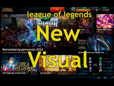 League Of Legends visual refresh