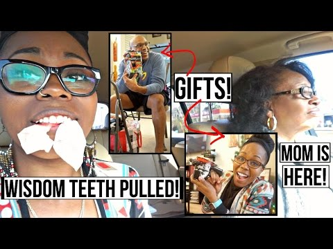 MOM IS HERE! | Wisdom Teeth Pulled | Gift Exchange With BAE! ★Dr. BBBD Vlog 45★