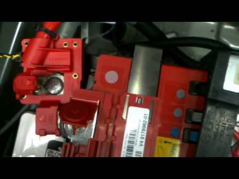 BMW X5 E70 X6 E71 Battery Removal How to DIY: BMTroubleU
