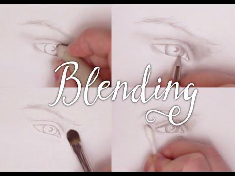 Art Tutorial: 4 Different Tools for Blending