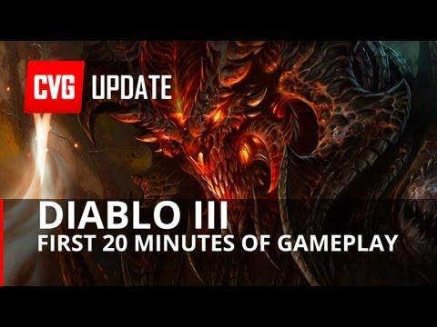 Diablo III First 20 minutes of gameplay
