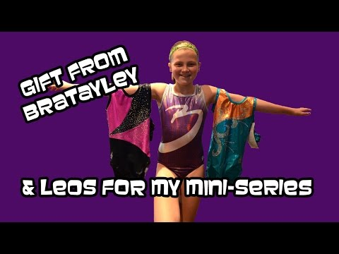 Bratayley Leotard Gift & Gymnastic Mini-Series Leos | Bethany G