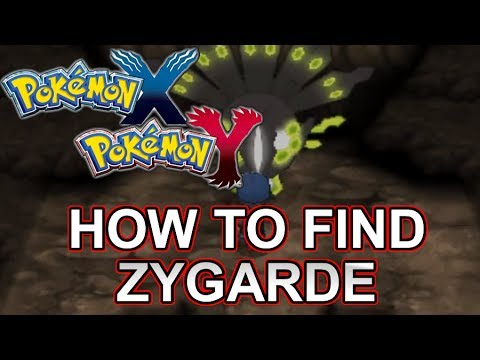 How To Find/Get Zygarde (Pokemon Z) In Pokemon X and Y (3DS) - Guide/Walkthrough/Tutorial