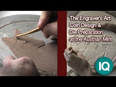 CoinWeek IQ: The Engraver's Art: Coin Design and Die Preparation at the Austrian Mint - 4K Video