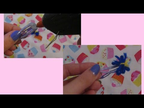 How To Cute Wool Butterfly Hair Clips - DIY Crafts Tutorial - Guidecentral