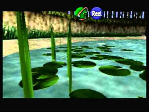 LoZ OoT: How to catch the Hylian (Hyrule) Loach.
