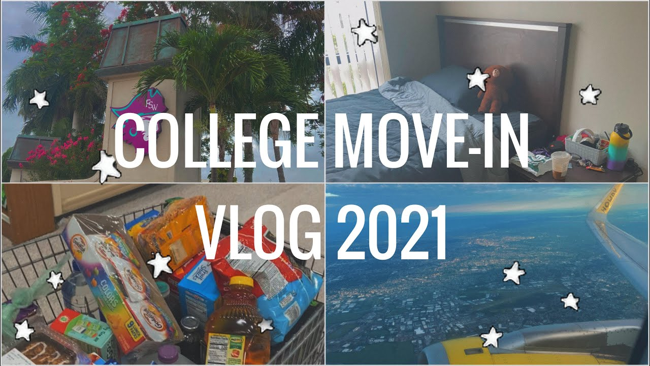 COLLEGE MOVE IN VLOG 2021 | Florida Southwestern State