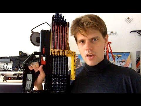 DINOSAUR SUPERIOR fully automatic LEGO gun