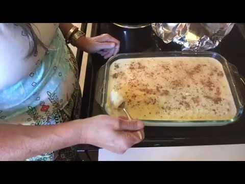 Holiday Baking... Rice Pudding