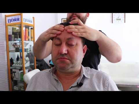 ASMR Turkish Barber Face Head And Body Massage 37