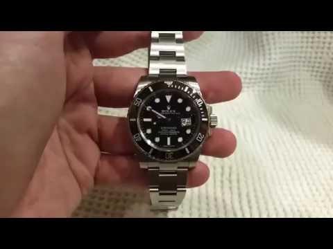 Rolex Submariner Polish & Scratch Removal Watch