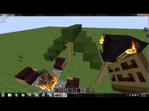 How to make a minecraft camping set