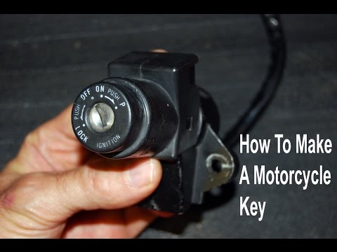 How to Make a Working Motorcycle Key