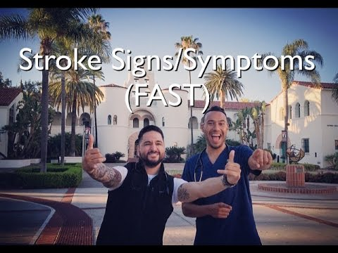 Stroke Signs & Symptoms (FAST)