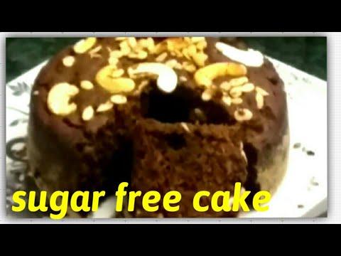 Eggless Cake, No butter, No sugar, No Maida| Atta cake In Cooker|Dates Jaggery wheat Dry fruit Cake.