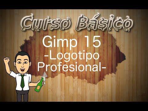 Curso básico de Gimp 15 -Crea un logotipo profesional-